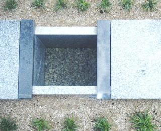 ご希望の文字彫刻を石碑に刻印いたします