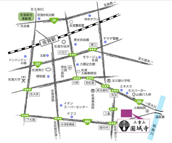 円城寺の地図